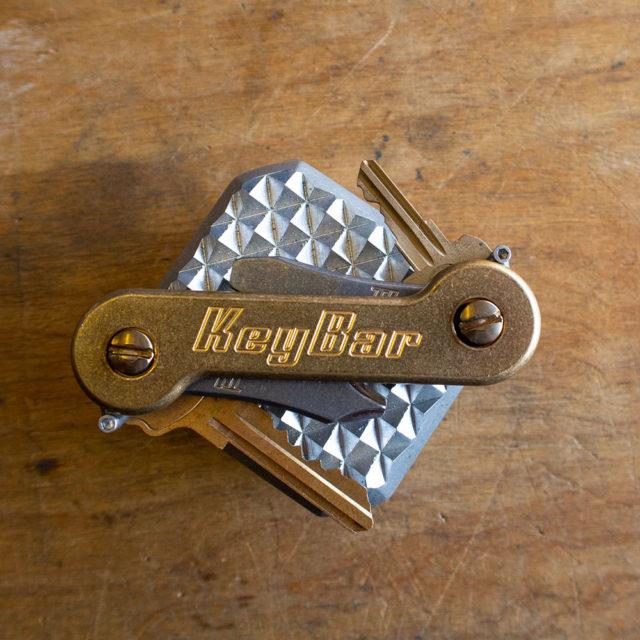 Stonewash Brass KeyBar mallet