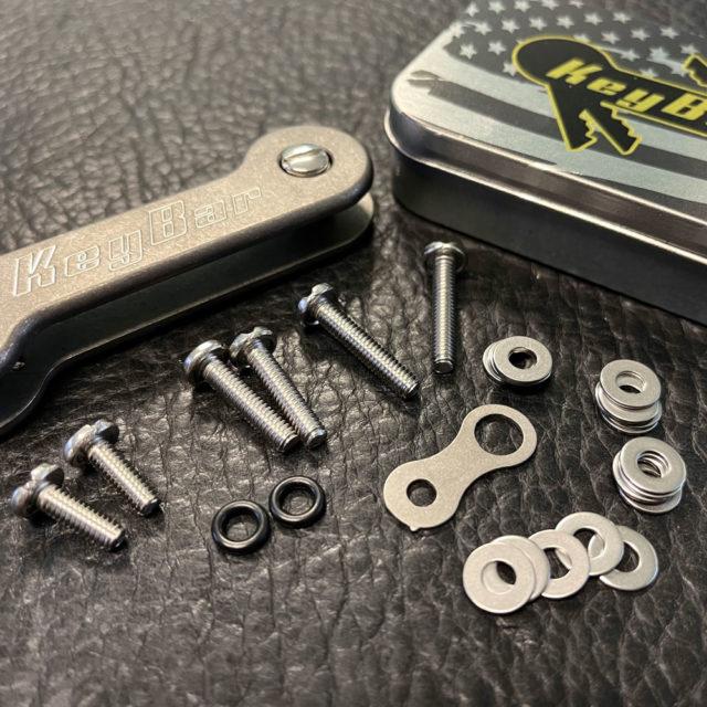 Hardware-set for KeyBar