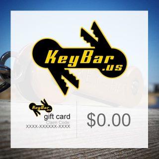 KeyBar Gift Certificate Image