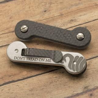 Don't Tread on Me-Snake CF Aluminum
