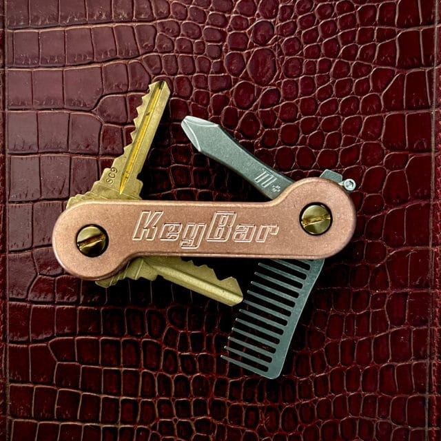Copper KeyBar Alligator
