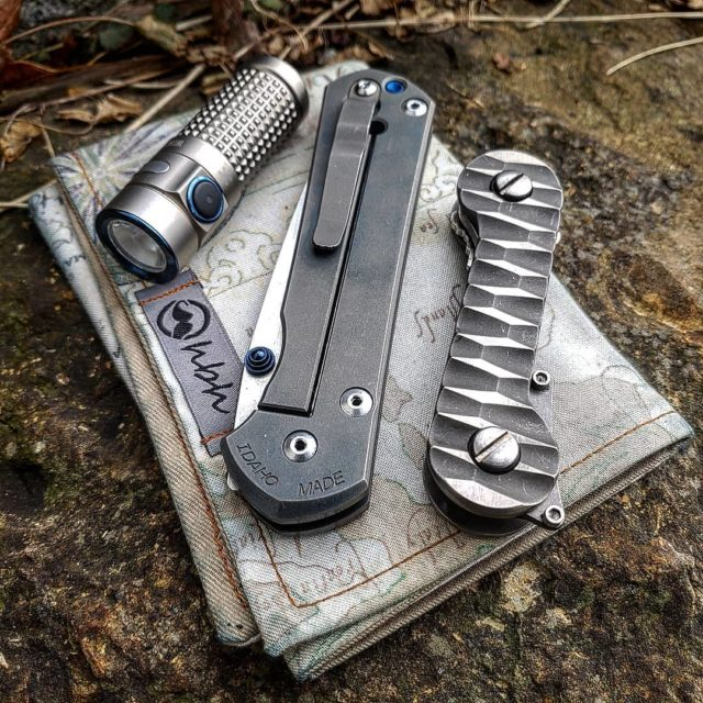 Custom Titanium Slayer KeyBar With EDC Accessories