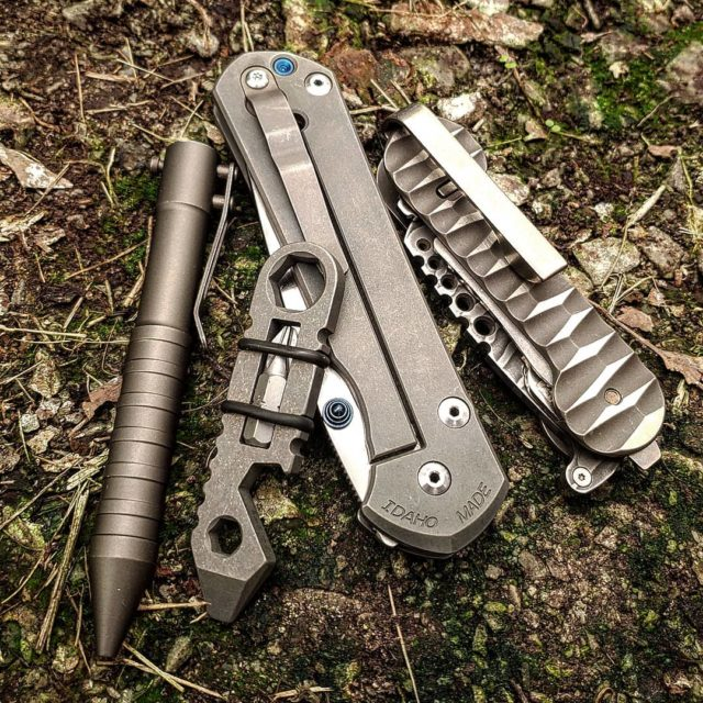 EDC Pocket Dump Featuring Slayer KeyBar Key Holder