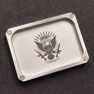 EDC Tray Small with KeyBar Army Logo