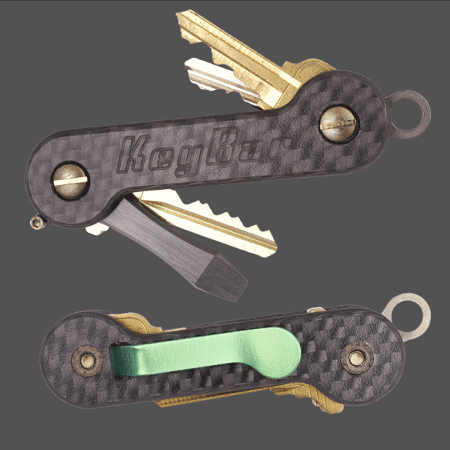 Carbon-Fiber-KeyBar-Key-Organizer-EDC-Tool