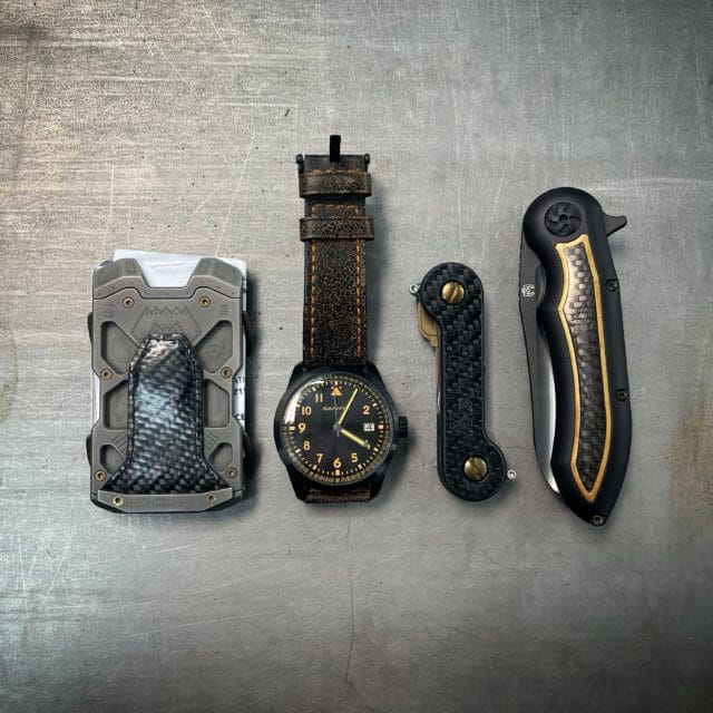 Carbon Fiber KeyBar Every Day Carry