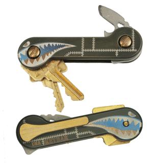 Green-Cerakoted-Titanium-Bomber-KeyBar