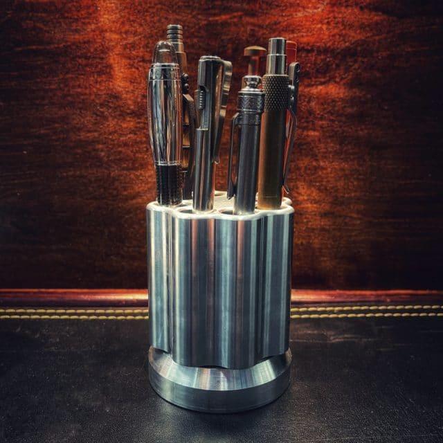Billet Aluminum Quick Draw Revolving Pen Holder by KeyBar