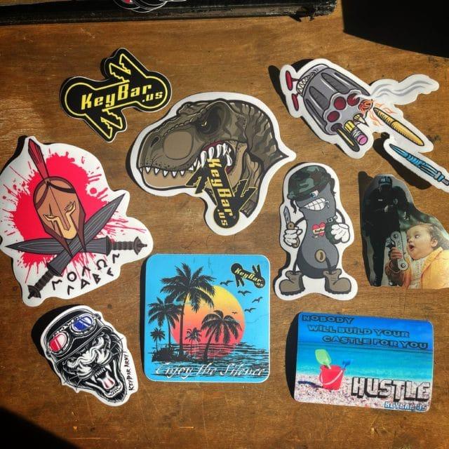 KeyBar Sticker Pack