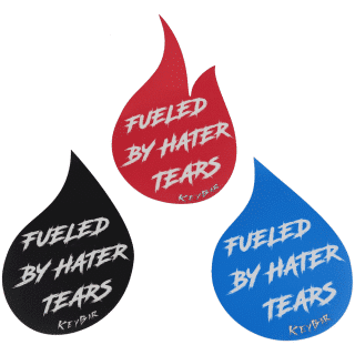 Black,-Red-and-Blue-Fueled-By-Hater-Tears-Vinyl-Stickers-by-KeyBar-Key-Organizer-EDC-Tool