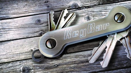 New KeyBar Aluminum Key Organizer