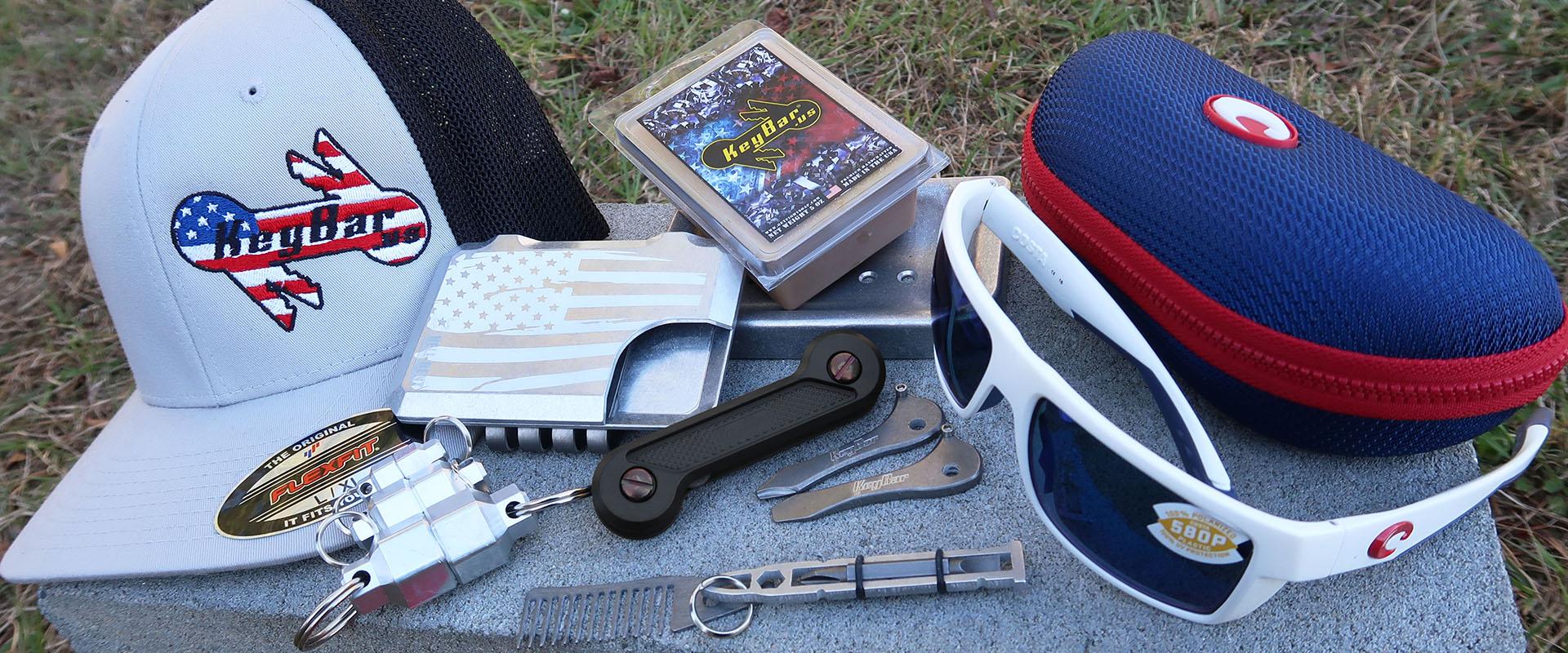 Costa Sunglasses and KeyBar Key Organizer EDC Tool Product Giveaway Image Header Image