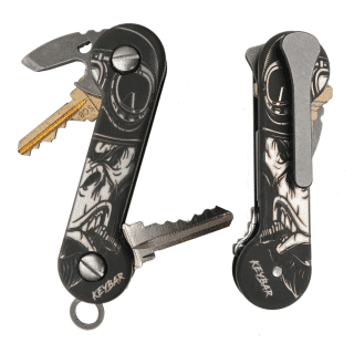 Gray-Gorilla-Laser-Engraved-Titanium-KeyBar-Key-Organizer-EDC-Tool