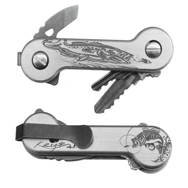 Aluminum Bass-Engraved KeyBar