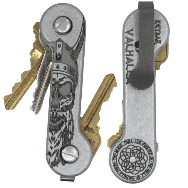 Deep Engraved Aluminum Valhalla KeyBar