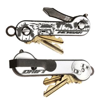Drift Drag-Racing Themed KeyBar