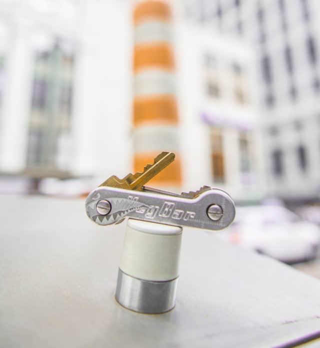 Aluminum Bomber KeyBar Key Holder Photo