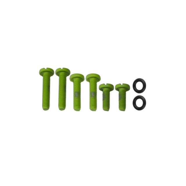 Green-Colored-Screw-Set