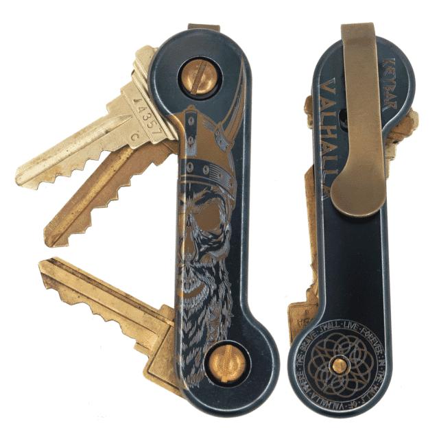 Valhalla-Anodized-Laser-Engraved-Titanium-KeyBar-Key-Organizer-EDC-Tool