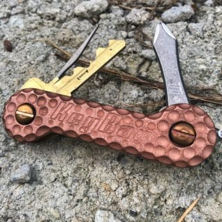 Copper Cratered KeyBar