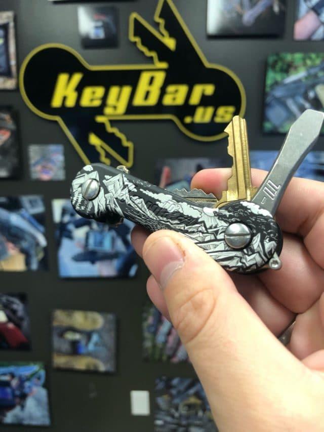 Black Sierra Aluminum KeyBar