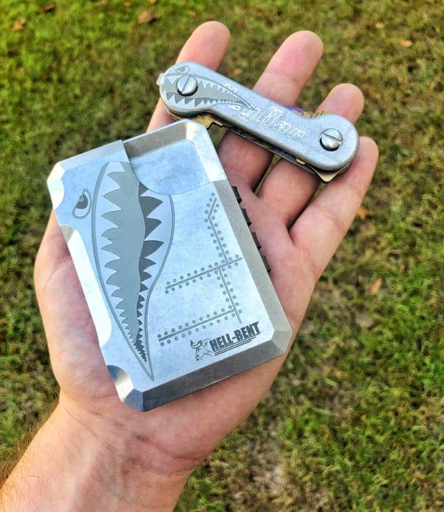 Aluminum Bomber Wallet Combo