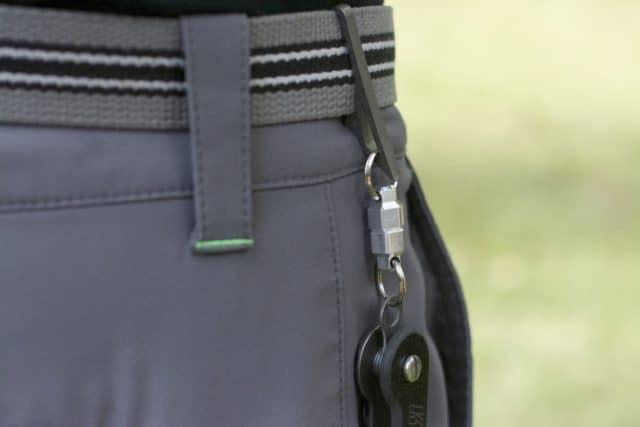 D2 Belt Clip PryBar Flathead by KeyBar Key Organizer EDC Tool Lifestyle Image 1