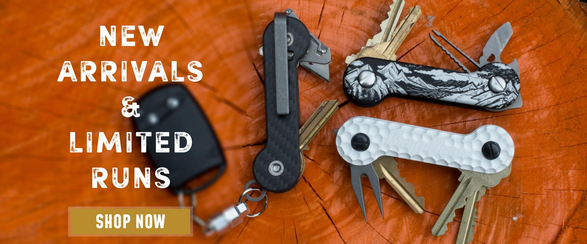 KeyBar-Key Organizer-Homepage-Desktop-Image-Orange Background-New Arrivals-Limited Runs Desktop