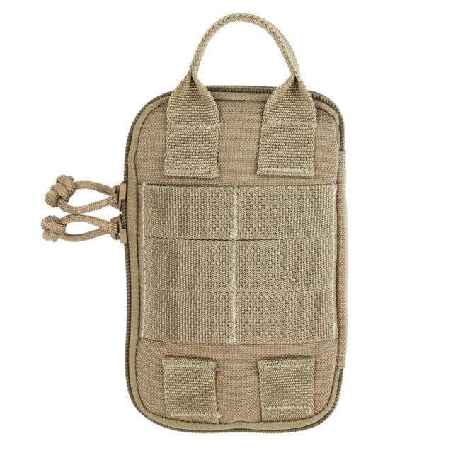 Coyote Tan Vanquest Personal Pocket Maximizer Slim Pouch Back