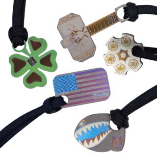 Custom Titanium Beads from KeyBar