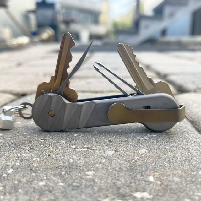 Half-Carved-Carbon Fiber KeyBar Back