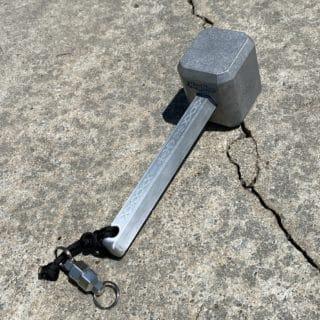 Aluminum Billet Hammer by KeyBar Key Organizer EDC Tool