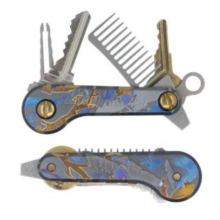 Titanium-Camo-KeyBar-JR-Key-Organizer-EDC-Tool