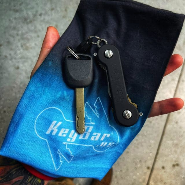 Black and Blue Bandana from KeyBar