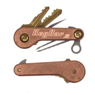 Copper-KeyBar-JR-Key-Organizer-Minimalist-EDC-Tool