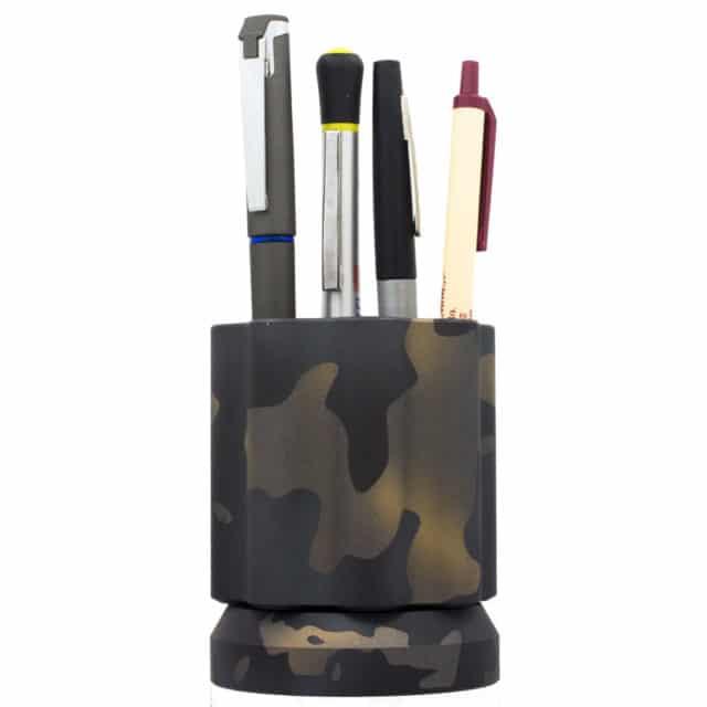New-Camo-Quick-Draw-Aluminum-Cerakoted-by-KeyBar-Key-Organizer-EDC-Tool---with-pens