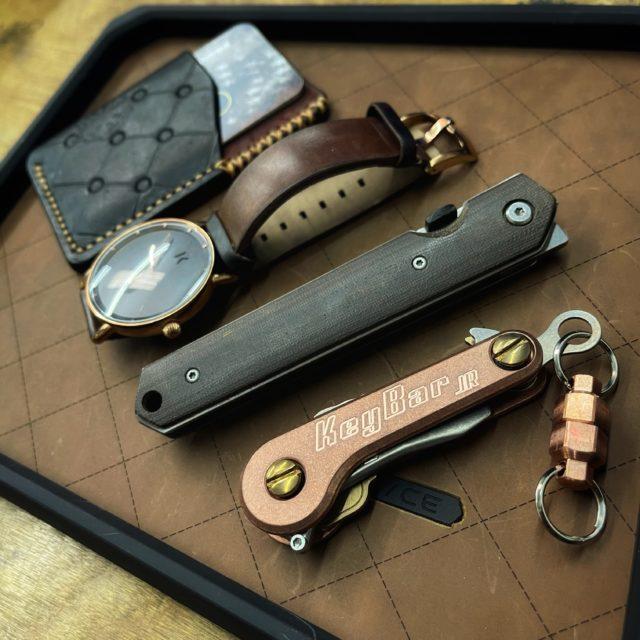 Copper KeyBar JR and Copper MagNuts