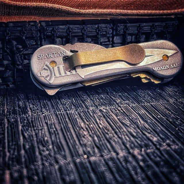 Spartan Aluminum Deep Engraved KeyBar
