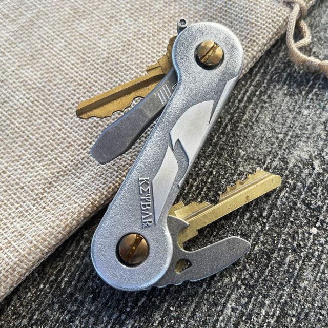 Spartan Aluminum KeyBar Front
