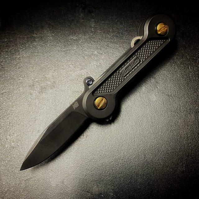 Black Cerakote Drop Point Blade Insert for KeyBar