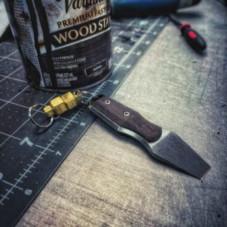 Titanium PryBar V3 by KeyBar