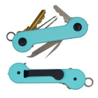 Tiffany-Blue-Cerakote Aluminum KeyBar