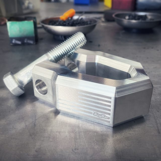 The Redeemer Machined Truck Shackle by KeyBar