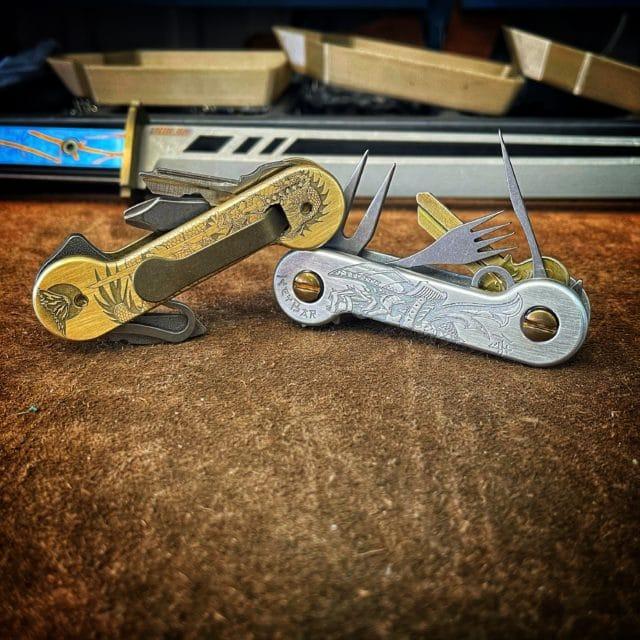 Samurai Brass and Aluminum KeyBars