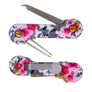Pink Camo UV Printed Aluminum Mother's Day Bundle KeyBar