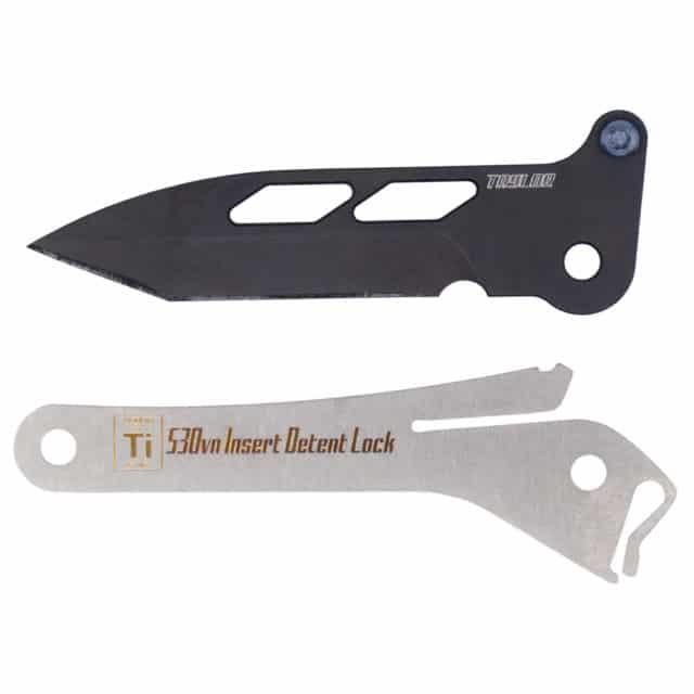 Black Spear Point Blade Insert for KeyBar