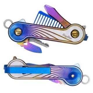 Anodized Titanium Radiant KeyBar