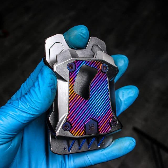 Vice Hardware Titanium F22 Multi-Color Anodized Titanium Boozer Wallet