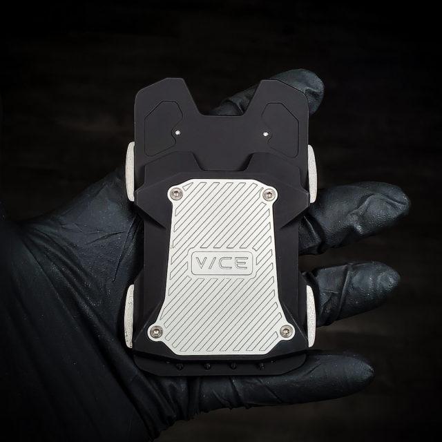 Vice Hardware Titanium - Aluminum Black Wallet F1