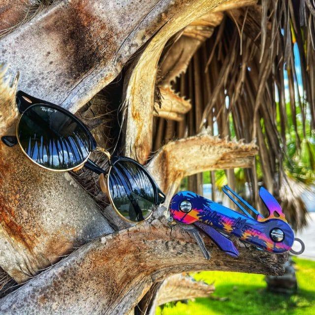 Tropic-Sunset-KeyBar UV Print Aluminum